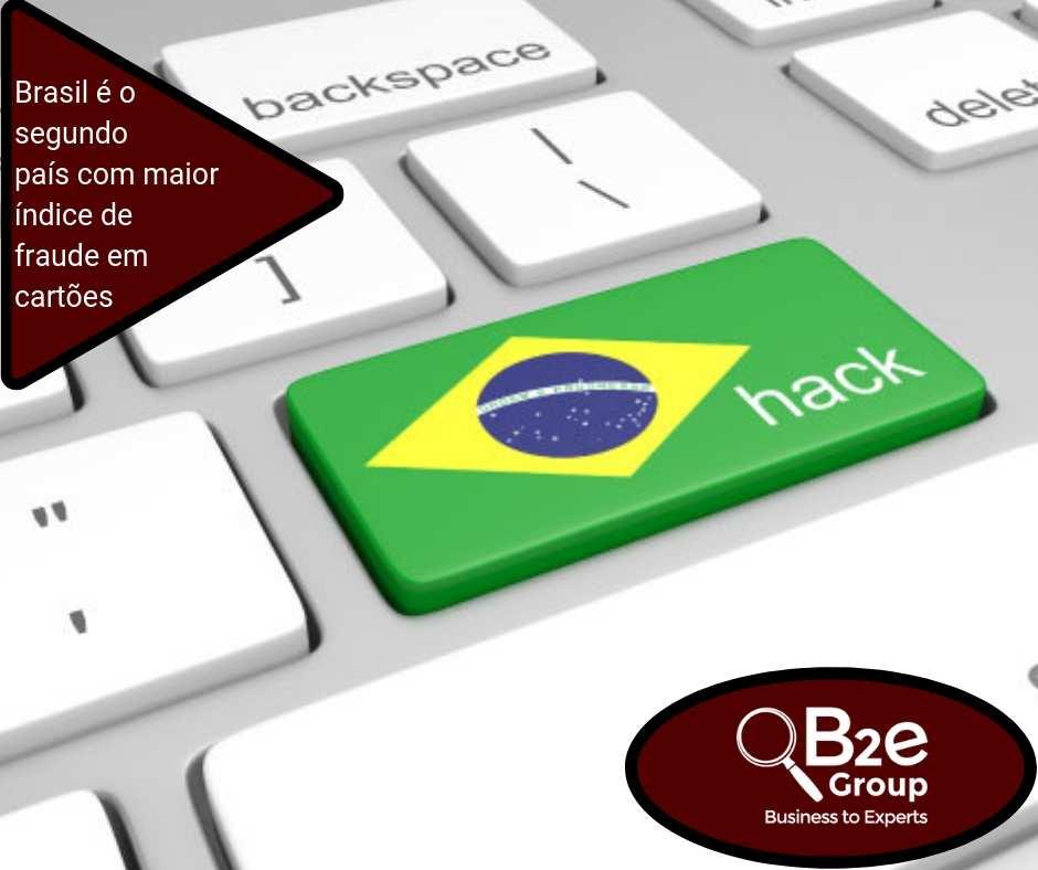 Brasil é o segundo país com maior índice de fraude em cartões