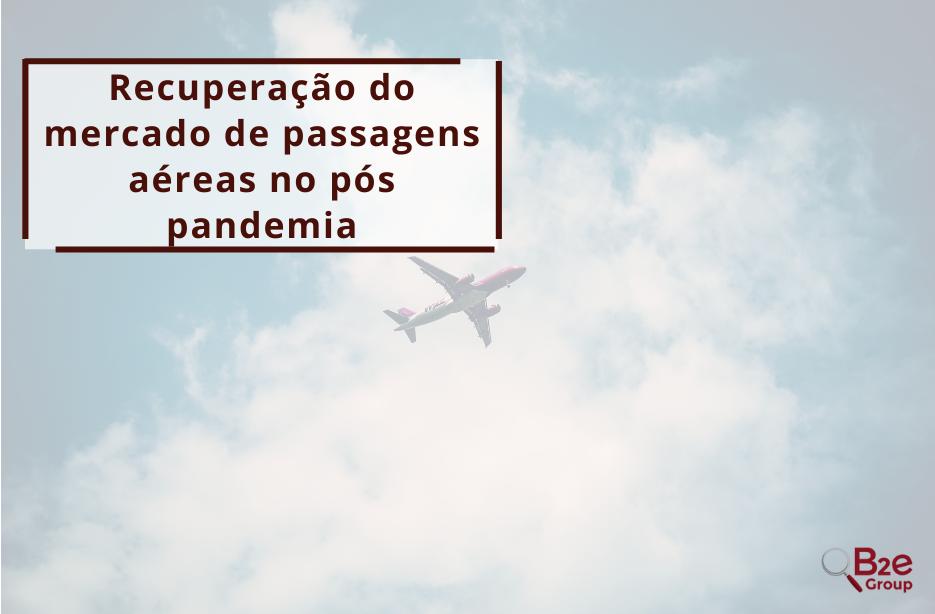 mercado de passagens aéreas